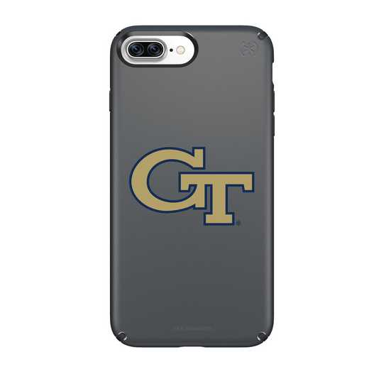 IPH-87P-BK-PRE-GT-D101: FB Georgia Tech iPhone 8 and iPhone 7 Plus Speck Presidio