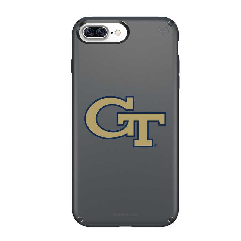 IPH-87P-BK-PRE-GT-D101: FB Georgia Tech iPhone 8 and iPhone 7 Plus Speck Presidio