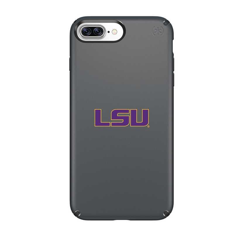IPH-87P-BK-PRE-LSU-D101: FB LSU iPhone 8 and iPhone 7 Plus Speck Presidio