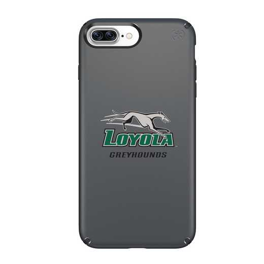 IPH-87P-BK-PRE-LUM-D101: FB Loyola Univ Of Maryland iPhone 8 and iPhone 7 Plus Speck Presidio