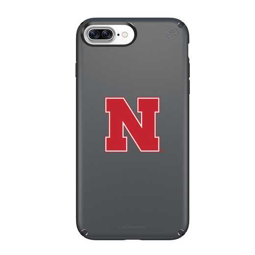 IPH-87P-BK-PRE-NB-D101: FB Nebraska iPhone 8 and iPhone 7 Plus Speck Presidio