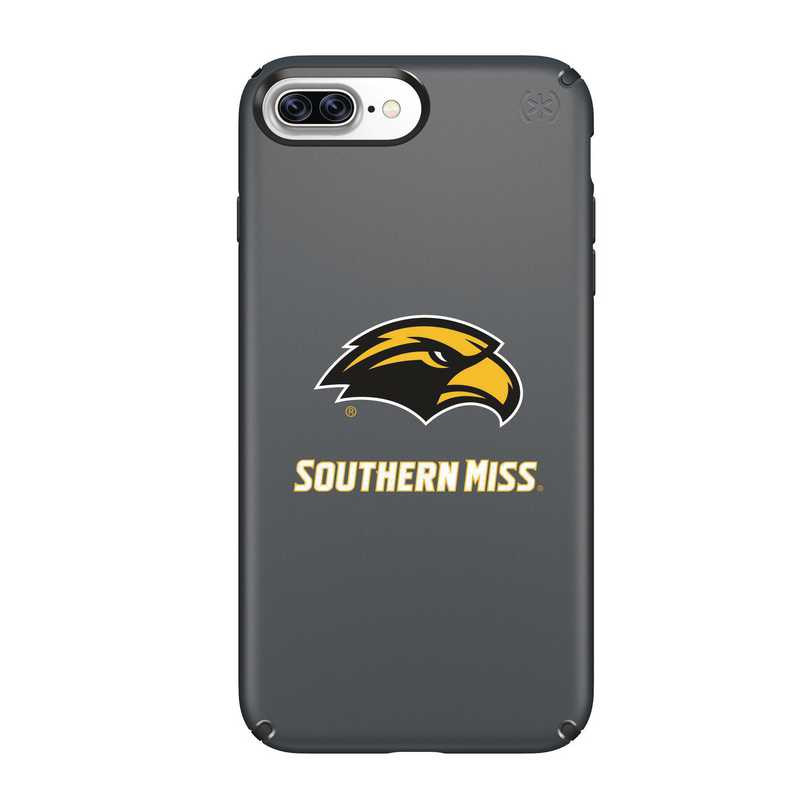 IPH-87P-BK-PRE-SOMI-D101: FB Southern Mississippi iPhone 8 and iPhone 7 Plus Speck Presidio