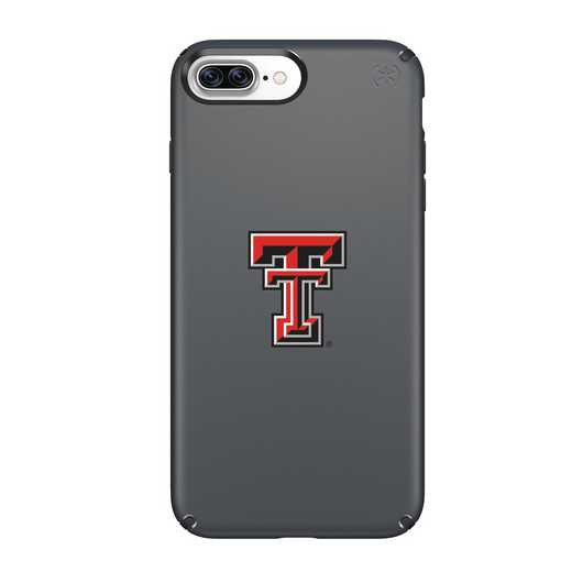 IPH-87P-BK-PRE-TT-D101: FB Texas Tech iPhone 8 and iPhone 7 Plus Speck Presidio