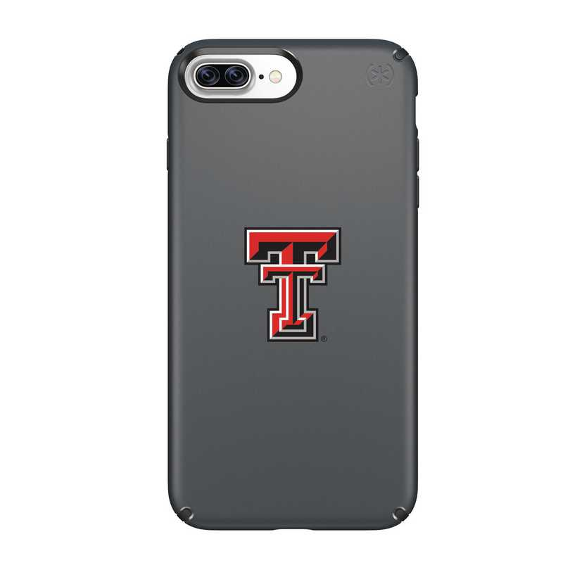 IPH-87P-BK-PRE-TT-D101: FB Texas Tech iPhone 8 and iPhone 7 Plus Speck Presidio