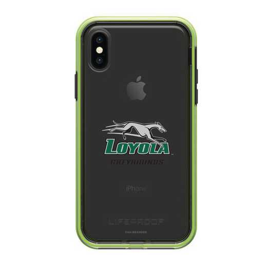 IPH-X-NF-SLA-LUM-D101: FB Loyola Univ Of Maryland SL?M  iPHONE X