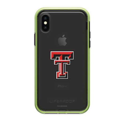 IPH-X-NF-SLA-TT-D101: FB Texas Tech SL?M  iPHONE X