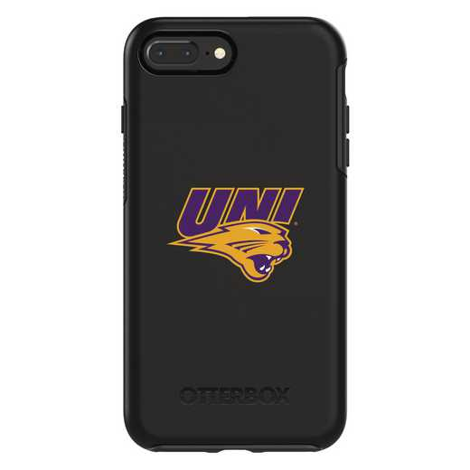 IPH-87P-BK-SYM-UNI-D101: FB Northern Iowa OB SYMMETRY IPN 8 PLUS AND IPN 7 PLUS