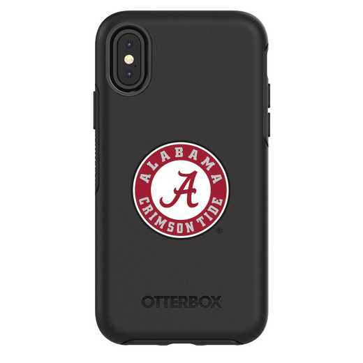 IPH-X-BK-SYM-AL-D101: FB Alabama iPhone X Symmetry Series Case