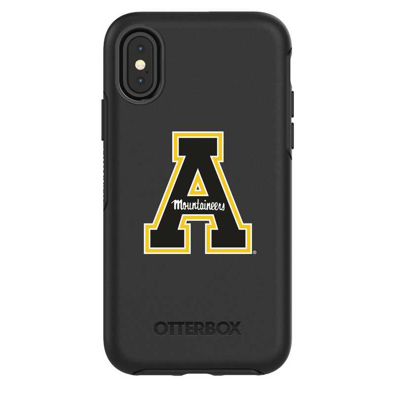 IPH-X-BK-SYM-APS-D101: FB Applachian St iPhone X Symmetry Series Case