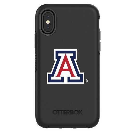 IPH-X-BK-SYM-ARZ-D101: FB Arizona iPhone X Symmetry Series Case