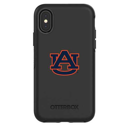 IPH-X-BK-SYM-AUB-D101: FB Auburn iPhone X Symmetry Series Case