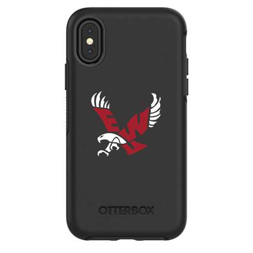 IPH-X-BK-SYM-EWU-D101: FB Eastern Washington iPhone X Symmetry Series Case