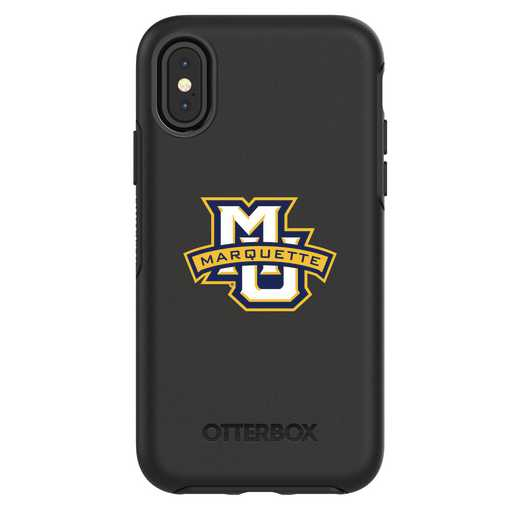 IPH-X-BK-SYM-MAQ-D101: FB Marquette iPhone X Symmetry Series Case
