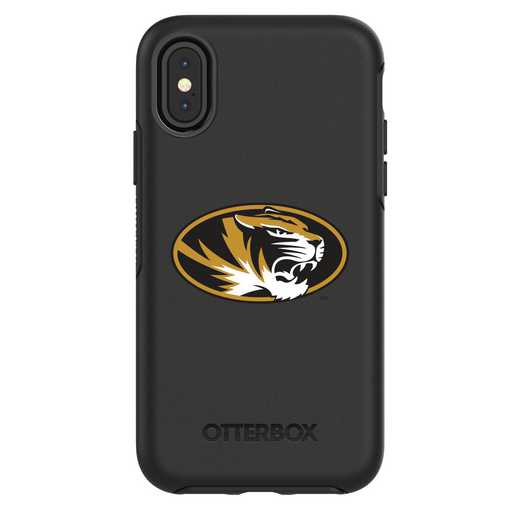IPH-X-BK-SYM-MIS-D101: FB Missouri iPhone X Symmetry Series Case