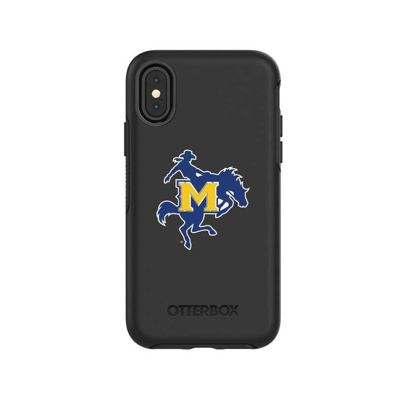 IPH-X-BK-SYM-MNS-D101: FB McNeese St iPhone X Symmetry Series Case