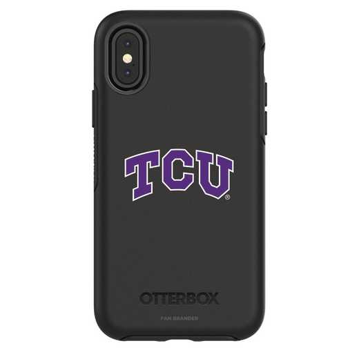 IPH-X-BK-SYM-TCU-D101: FB TCU iPhone X Symmetry Series Case