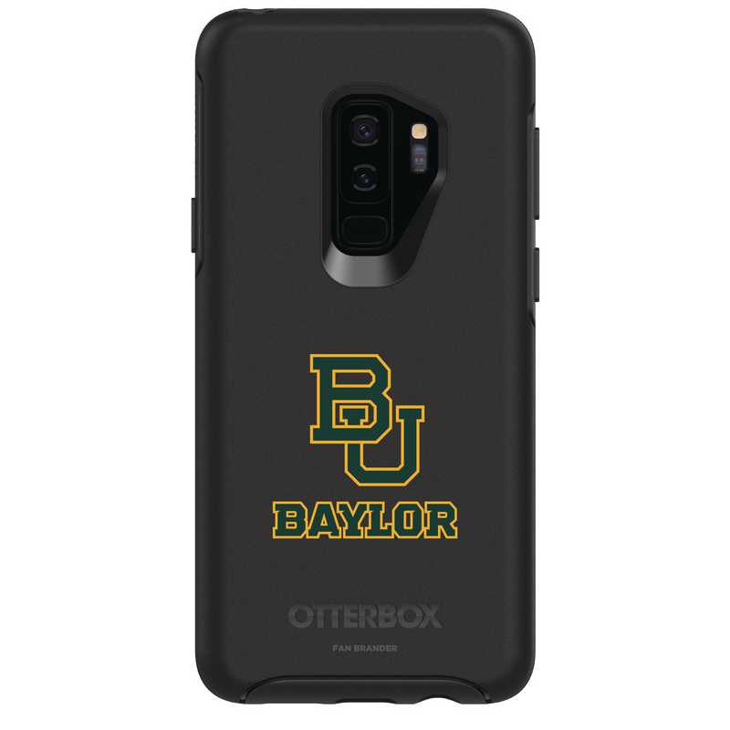 GAL-S9P-BK-SYM-BAY-D101: FB Baylor OB SYMMETRY Case for Galaxy S9+