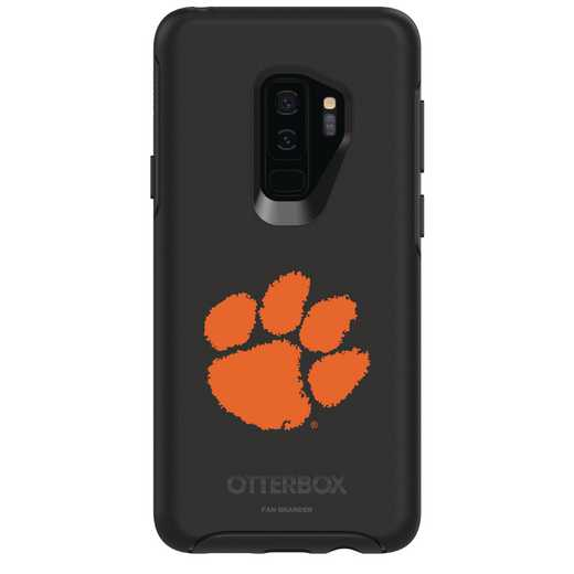 GAL-S9P-BK-SYM-CL-D101: FB Clemson OB SYMMETRY Case for Galaxy S9+