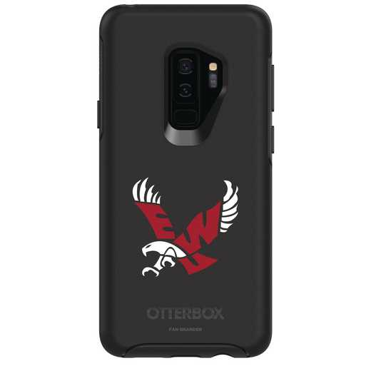 GAL-S9P-BK-SYM-EWU-D101: FB Eastern Washington OB SYMMETRY Case for Galaxy S9+
