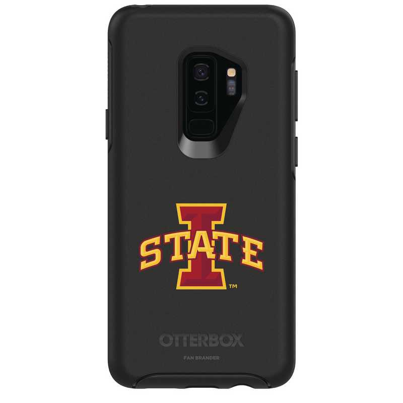 GAL-S9P-BK-SYM-IAS-D101: FB Iowa St OB SYMMETRY Case for Galaxy S9+