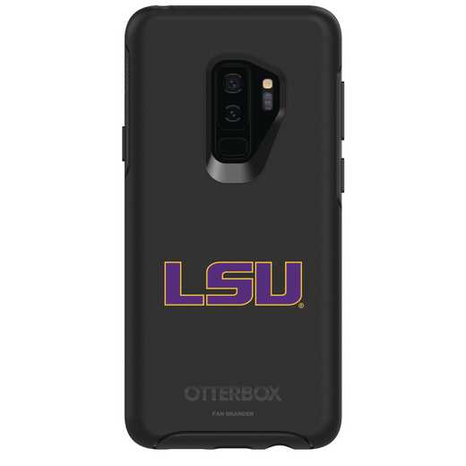 GAL-S9P-BK-SYM-LSU-D101: FB LSU OB SYMMETRY Case for Galaxy S9+
