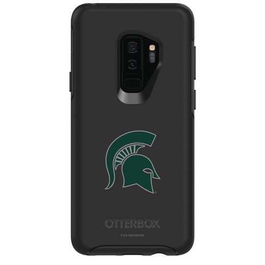 GAL-S9P-BK-SYM-MCS-D101: FB Michigan St OB SYMMETRY Case for Galaxy S9+