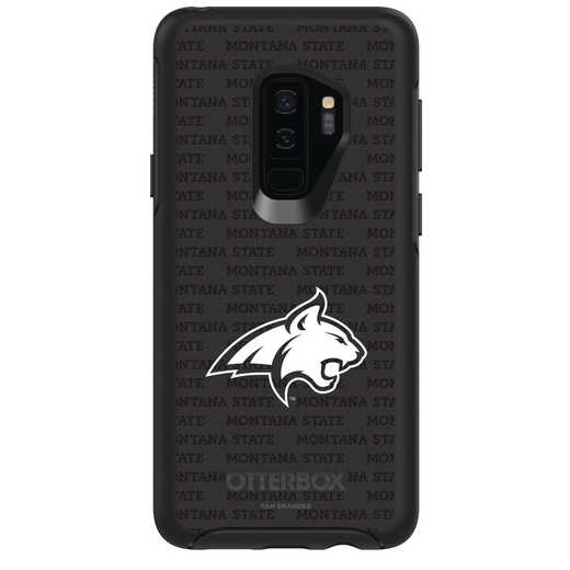 GAL-S9P-BK-SYM-MTST-D101: FB Montana St OB SYMMETRY Case for Galaxy S9+