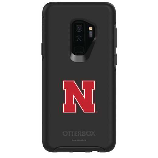 GAL-S9P-BK-SYM-NB-D101: FB Nebraska OB SYMMETRY Case for Galaxy S9+