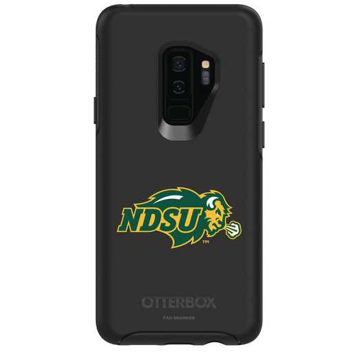 GAL-S9P-BK-SYM-NDSU-D101: FB North Dakota St OB SYMMETRY Case for Galaxy S9+
