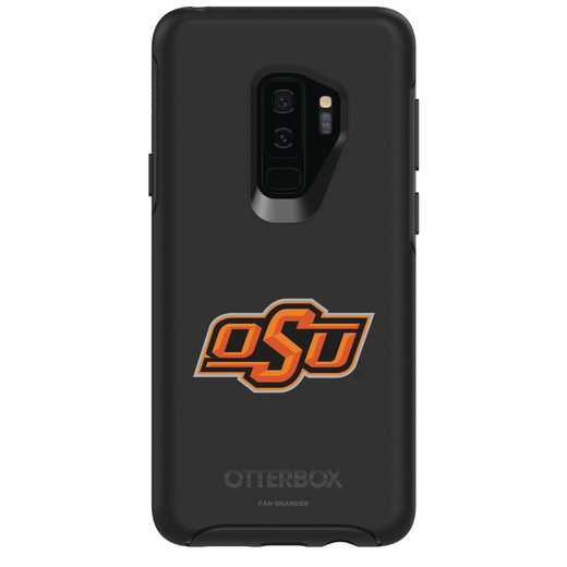 GAL-S9P-BK-SYM-OKS-D101: FB Oklahoma St OB SYMMETRY Case for Galaxy S9+
