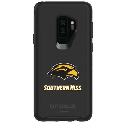 GAL-S9P-BK-SYM-SOMI-D101: FB Southern Mississippi OB SYMMETRY Case for Galaxy S9+
