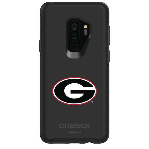 GAL-S9P-BK-SYM-UGA-D101: FB Georgia OB SYMMETRY Case for Galaxy S9+