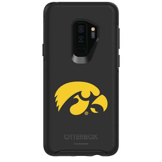 GAL-S9P-BK-SYM-UIA-D101: FB Iowa OB SYMMETRY Case for Galaxy S9+