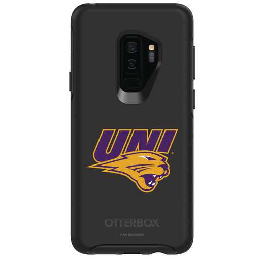 GAL-S9P-BK-SYM-UNI-D101: FB Northern Iowa OB SYMMETRY Case for Galaxy S9+