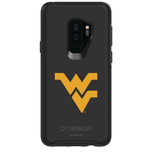 GAL-S9P-BK-SYM-WV-D101: FB West Virginia OB SYMMETRY Case for Galaxy S9+