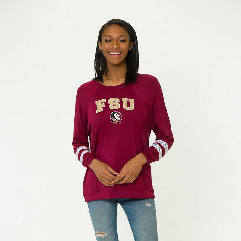 Florida State-Jennifer Long Sleeve Gameday Jersey by Flying Colors