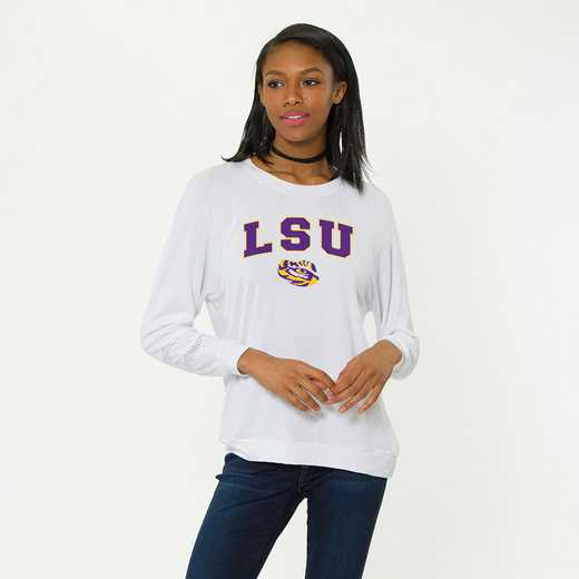 LSU-Jennifer Long Sleeve Gameday Jersey by Flying Colors