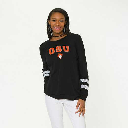 Oklahoma State-Jennifer Long Sleeve Gameday Jersey by Flying Colors