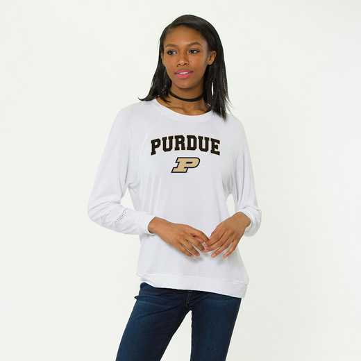 Purdue-Jennifer Long Sleeve Gameday Jersey by Flying Colors