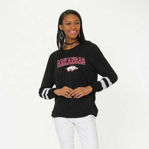 Arkansas- Jennifer Long Sleeve Gameday Jersey by Flying Colors