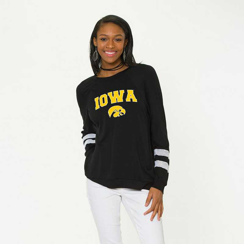 Iowa-Jennifer Long Sleeve Gameday Jersey by Flying Colors