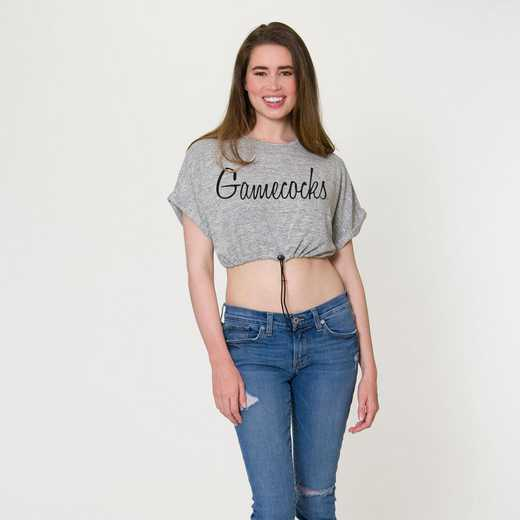 South Carolina Kara Crop Top by Flying Colors