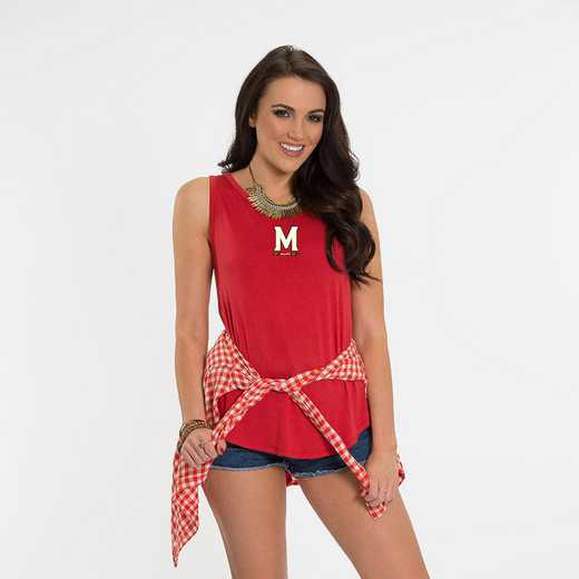 Maryland Kristi Tie-Back Tank by Flying Colors