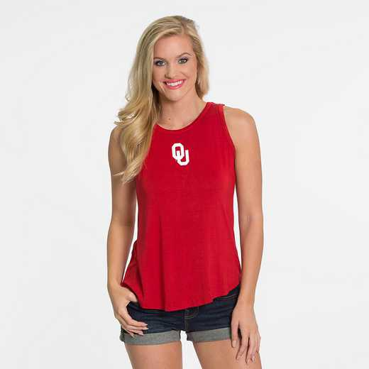 Oklahoma Kristi Tie-Back Tank by Flying Colors
