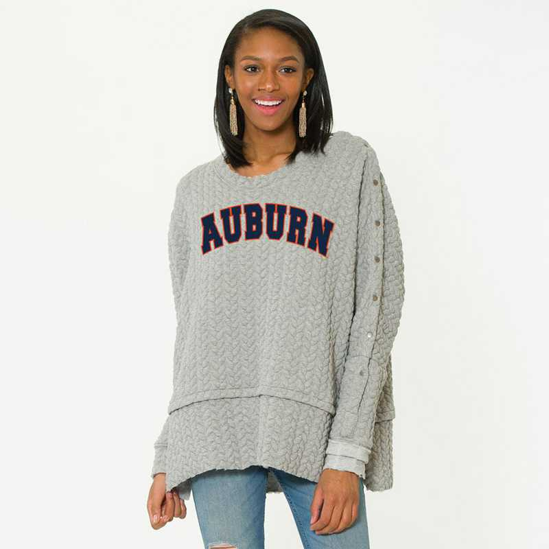 Auburn   Sasha Snap Sleeve Tunic by Flying Colors