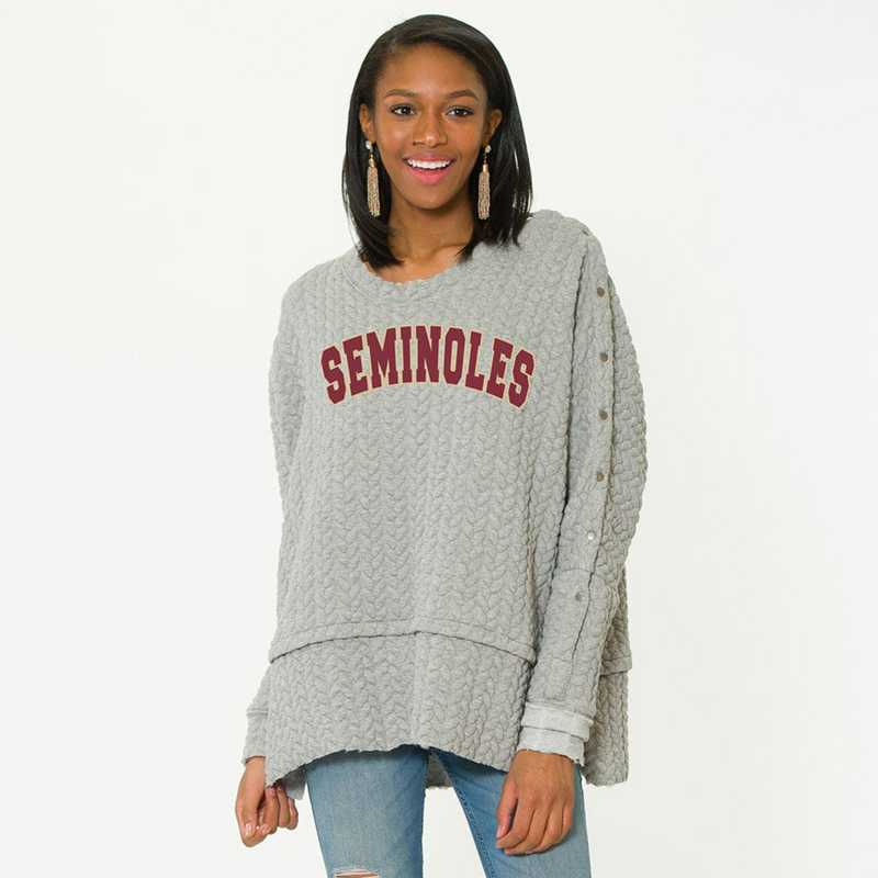 Florida State  Sasha Snap Sleeve Tunic by Flying Colors