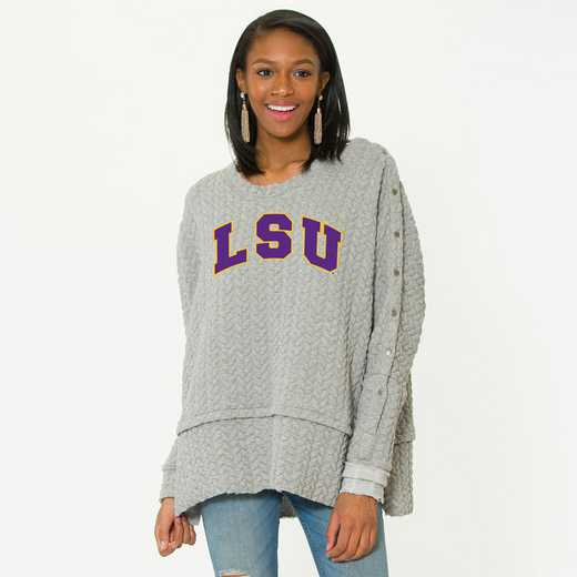 LSUSasha Snap Sleeve Tunic by Flying Colors
