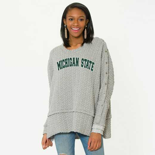 Michigan State Sasha Snap Sleeve Tunic by Flying Colors