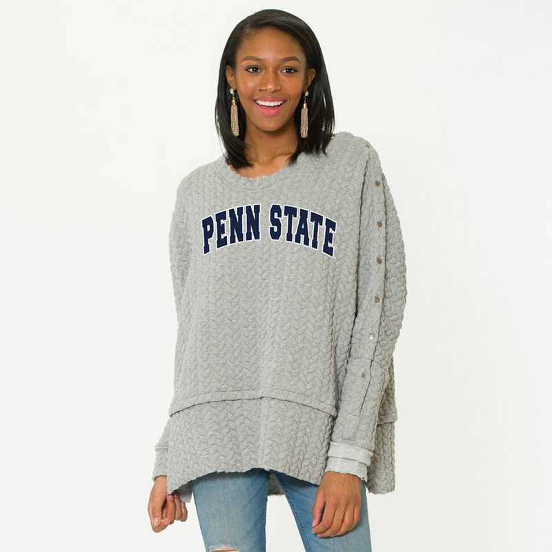 Penn State   Sasha Snap Sleeve Tunic by Flying Colors