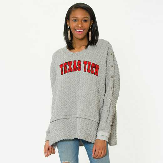 Texas Tech  Sasha Snap Sleeve Tunic by Flying Colors